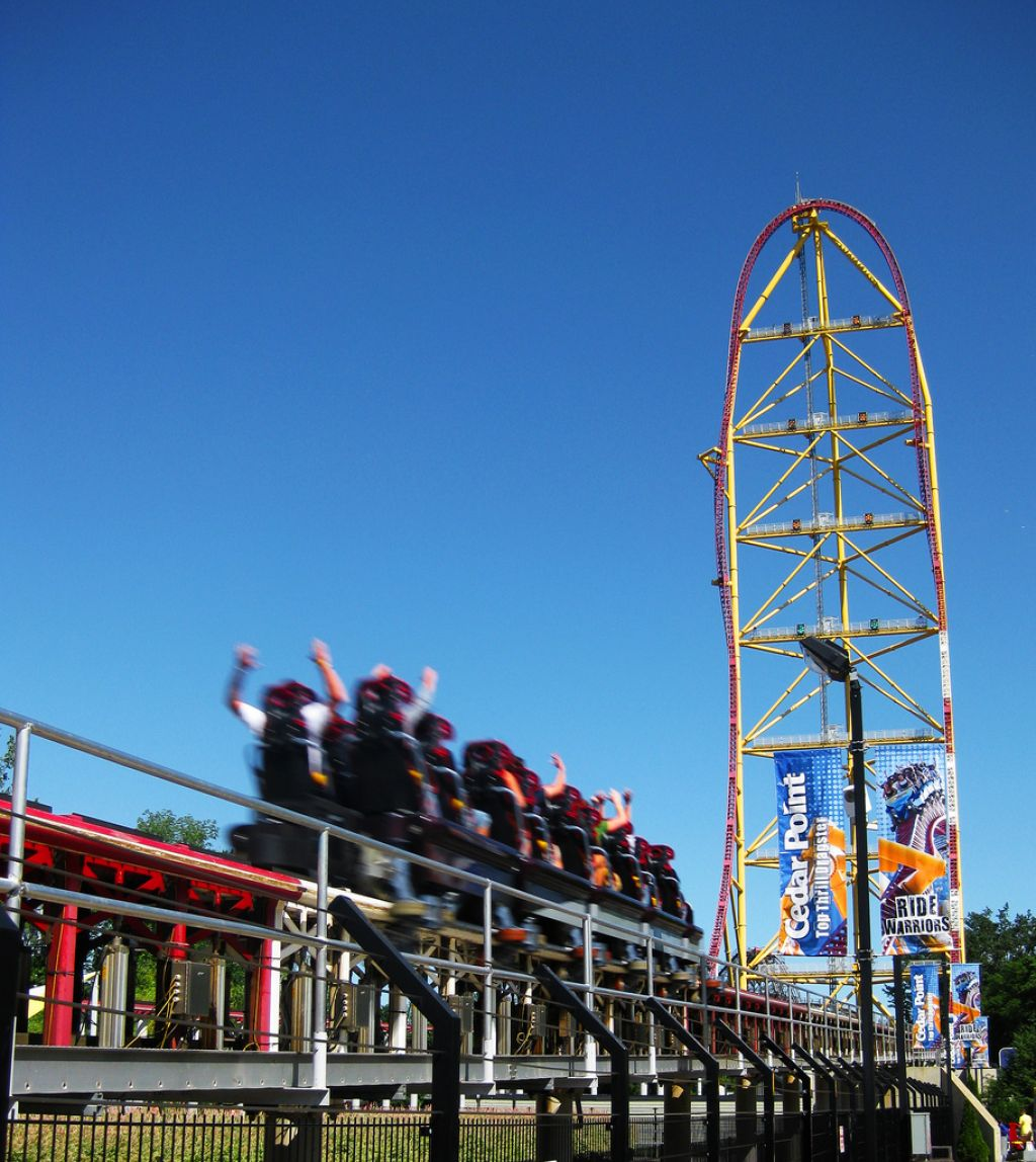 roller coaster5 Top Three Tallest Steel Roller Coasters