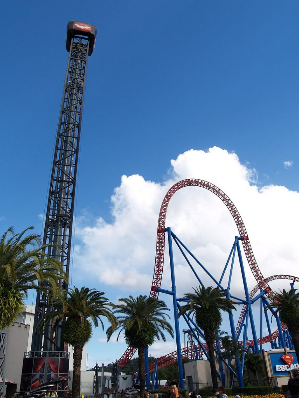 roller coaster7 Top Three Tallest Steel Roller Coasters