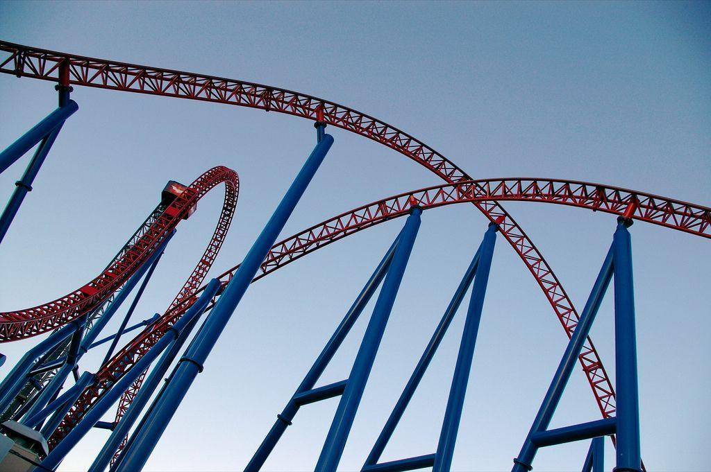 roller coaster9 Top Three Tallest Steel Roller Coasters
