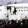 Pope Francis leaving Ecuador
