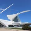 Modern Milwaukee Art Museum by Santiago Calatrava