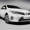 New 2013 Toyota Auris Hybrid at Paris Motor Show