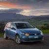 New Volkswagen Golf VII Driving