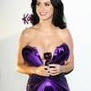 Sweet Katy Perry in Purple Dresses