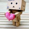 Funny Paper Box Robot Models