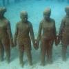 Amazing Underwater Sculpture Park at Moliniere Bay, Grenada