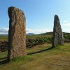 Ancient sites – Ring of Brodgar in Ornkey