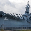 USS Alabama Battleship in Memorial Park