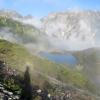 Hiking Mount Karamatsu Dake, Japan