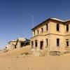 Abandoned Kolmanskop Ghost Town in Namibia