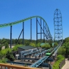 Top Three Tallest Steel Roller Coasters