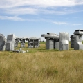 Car Replica of Stonehenge, Nebra...
