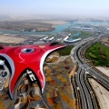 Impressive Ferrari World in Abu ...