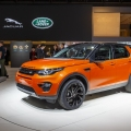 Jaguar and Land Rover at Paris A...