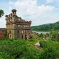 Collapsing Bannerman Castle on t...