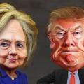 Donald Trump vs Hillary Clinton ...