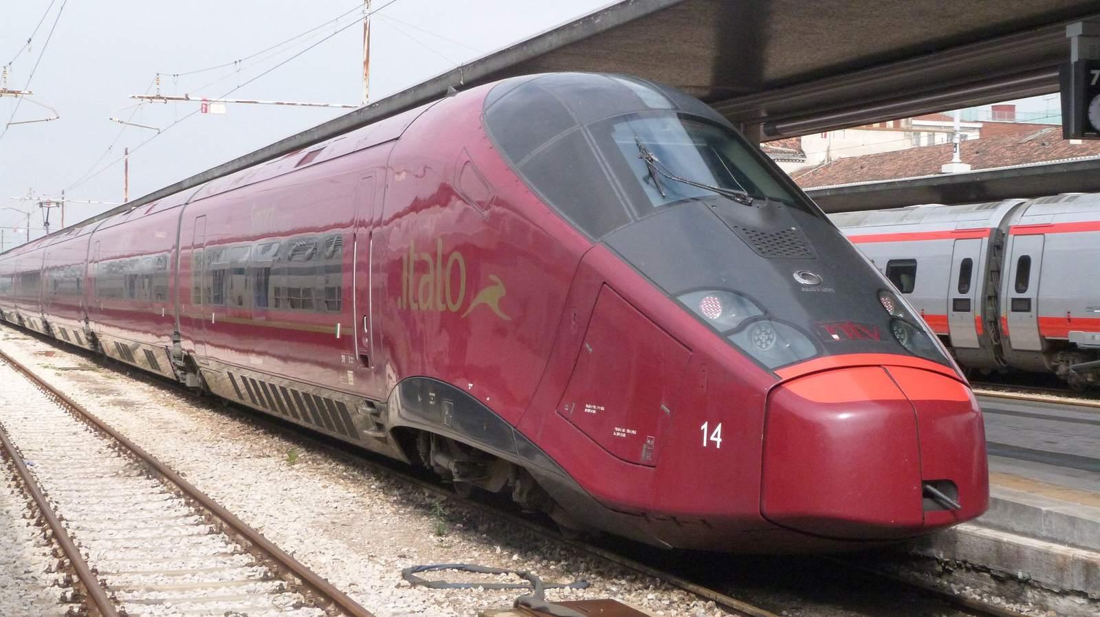 agv 5751 AGV Italo   The Most Modern Train in Europe