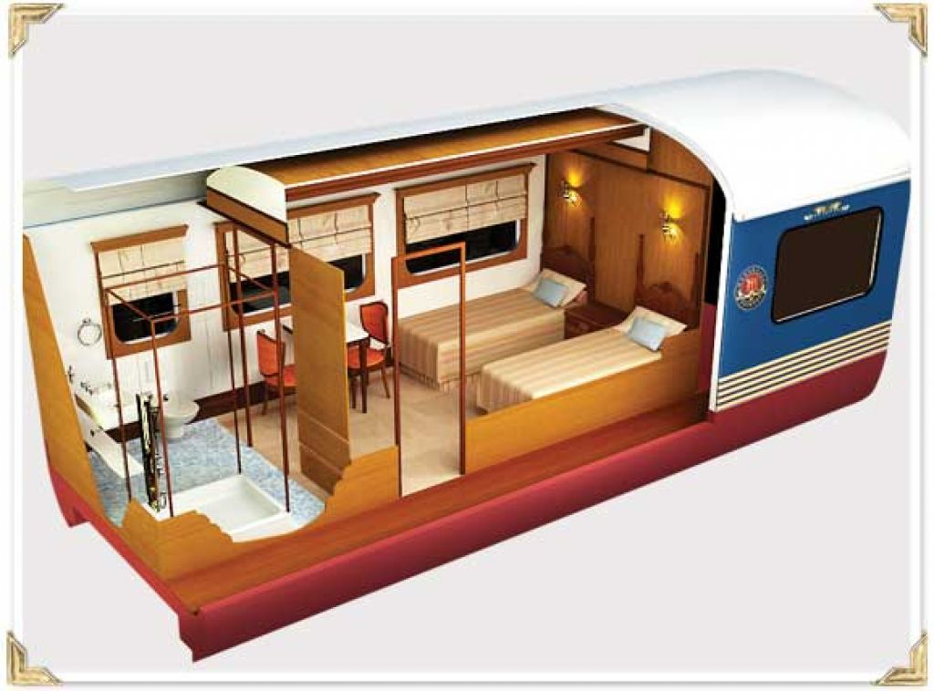maharaja express14 Maharajas Express   One of the Most Luxurious Trains in World