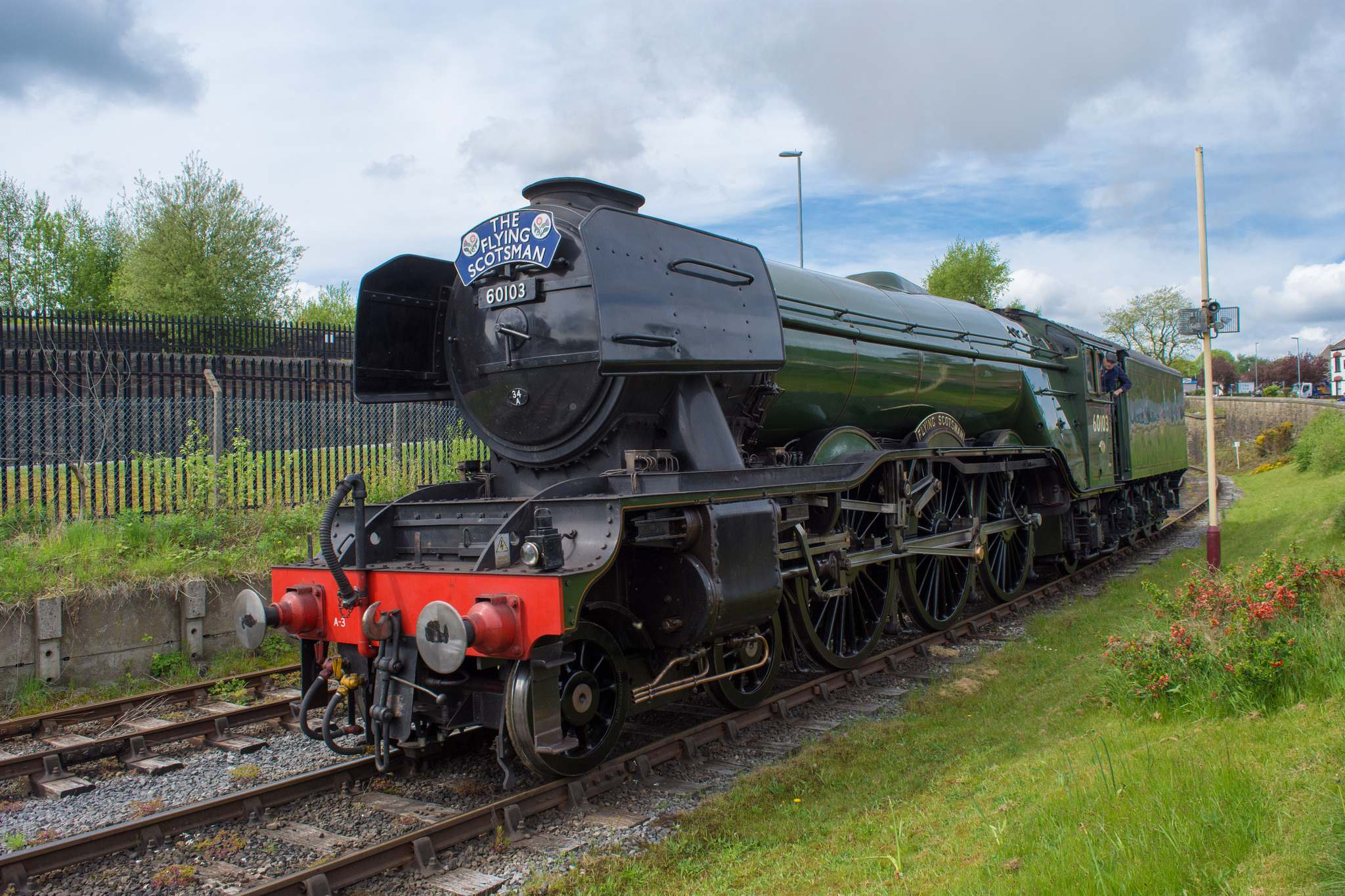 flying scotsman3 Most Famous Steam Train   Flying Scotsman