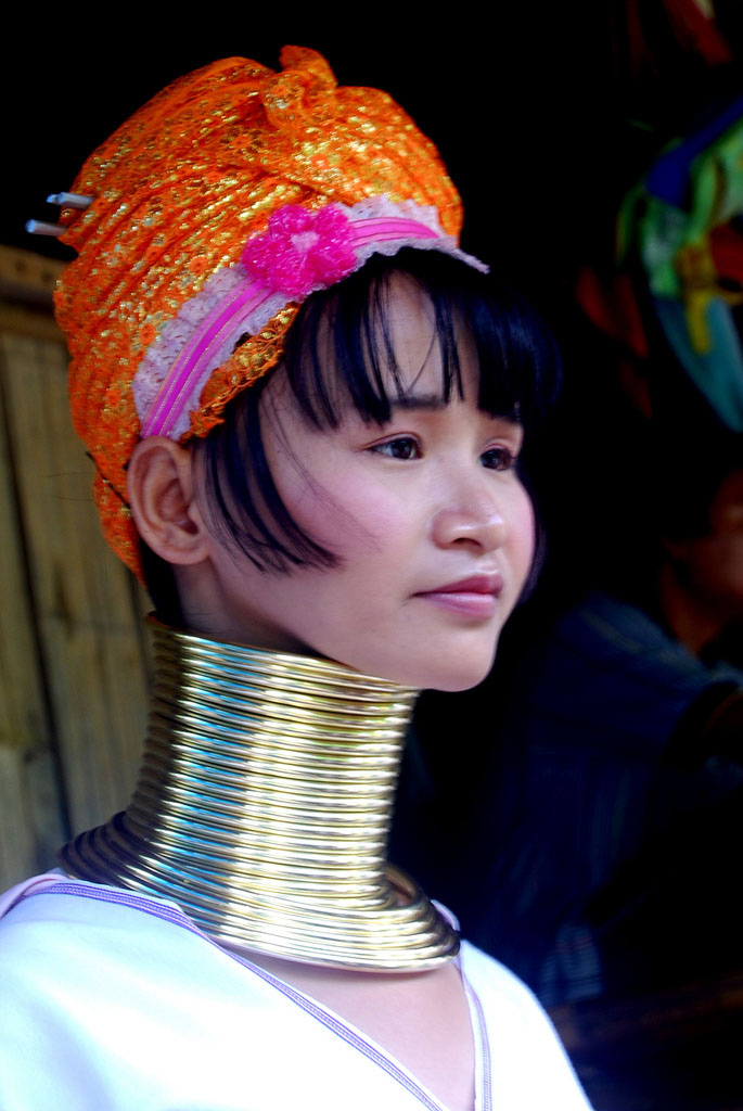 kayan4 Long Necked Padaung Tribe