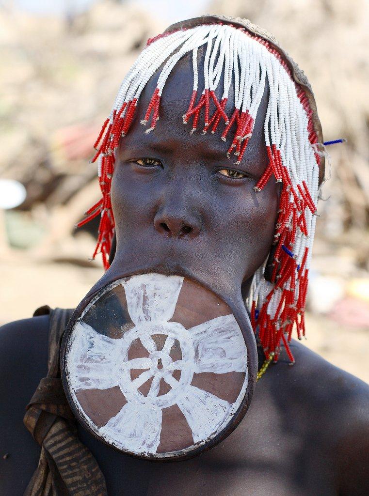 mursi tribe ethiopia 1 The Mursi Tribe Of Ethiopia