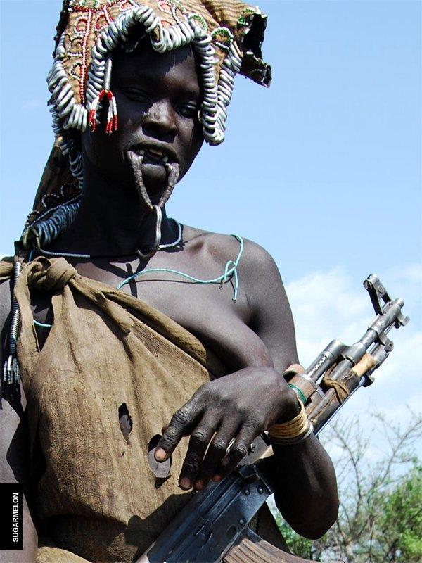 mursi tribe ethiopia 15 The Mursi Tribe Of Ethiopia