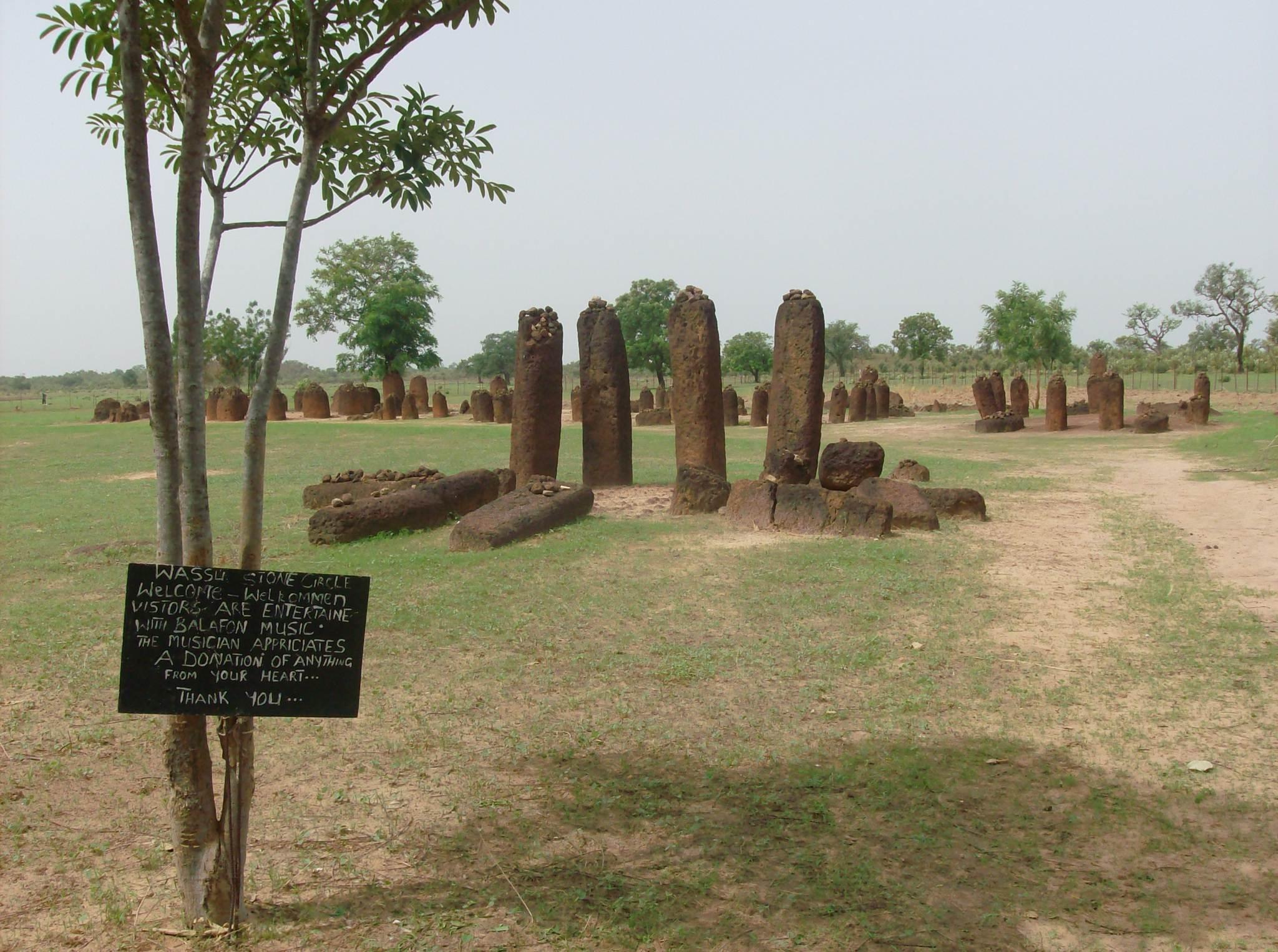 wassu stone circles UNESCO Wassu Stone Circles