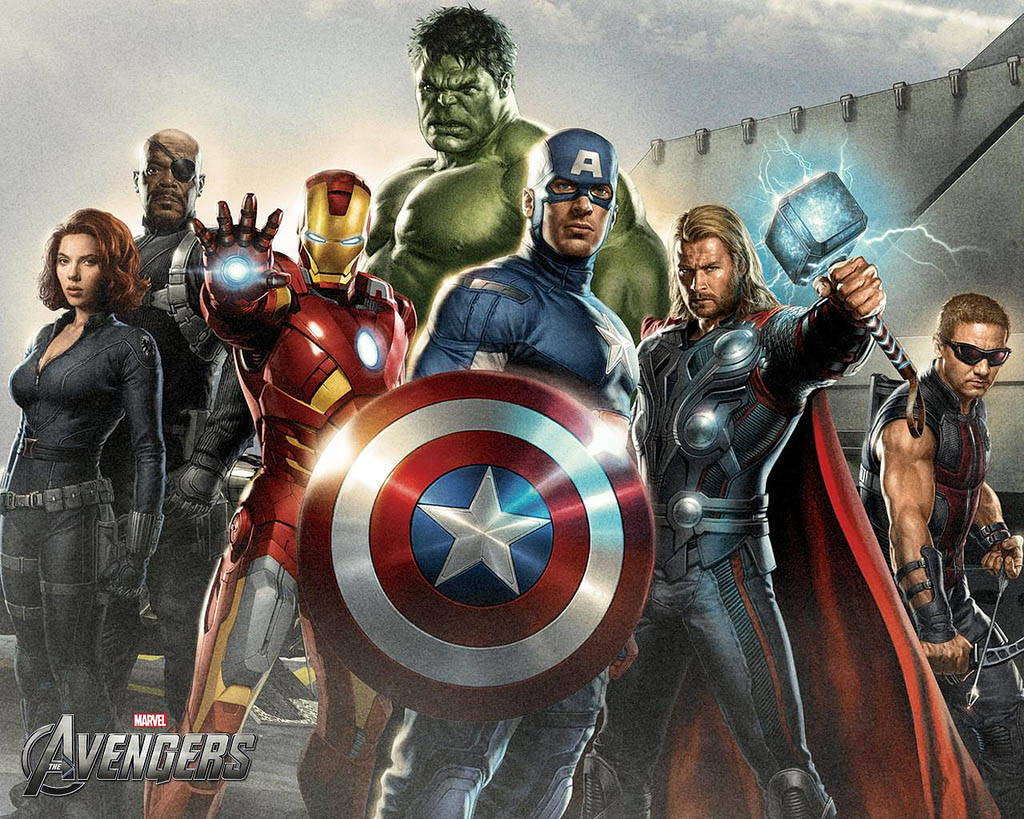 avengers The Avengers   Team of Super Humans
