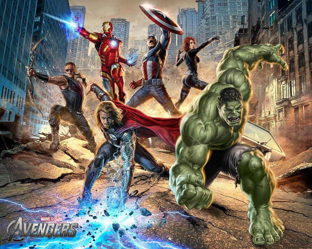 avengers1 The Avengers   Team of Super Humans