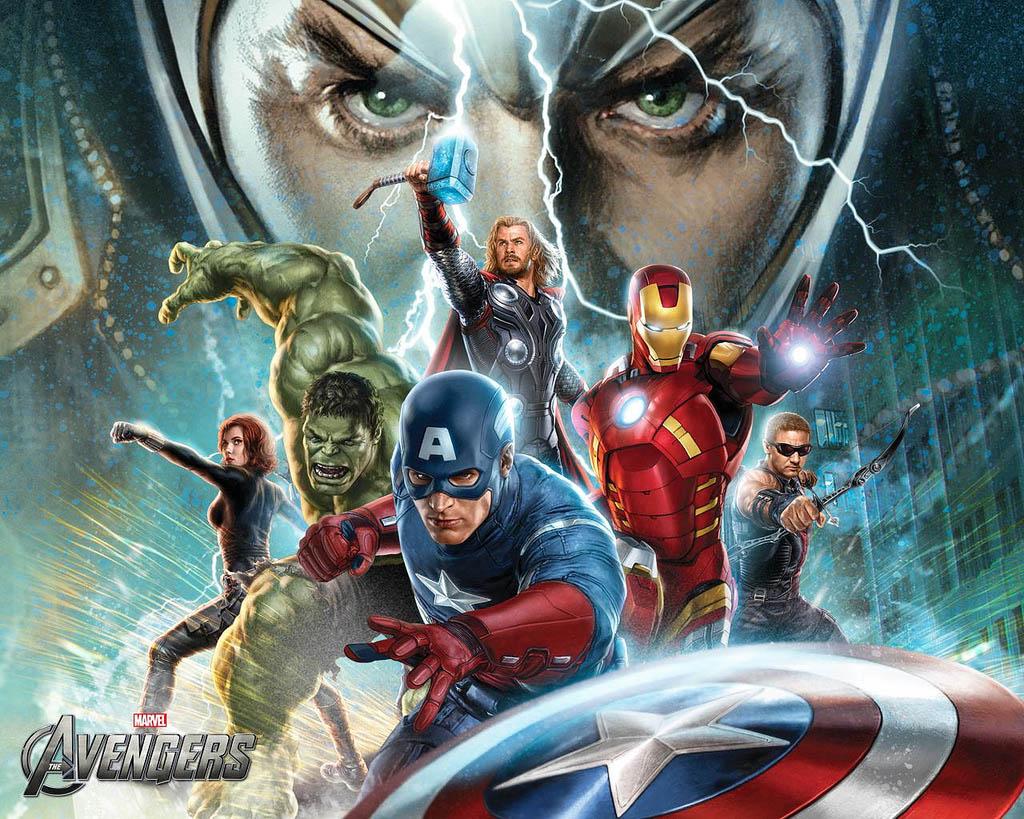 avengers2 The Avengers   Team of Super Humans