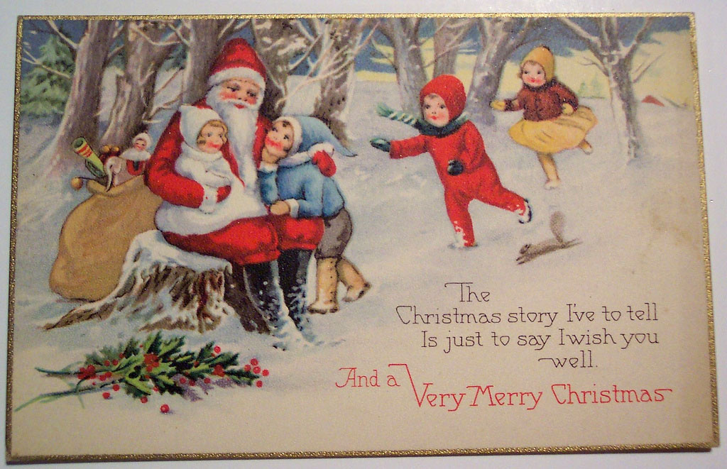 christmas card15 Best Vintage Christmas Card and Wishes