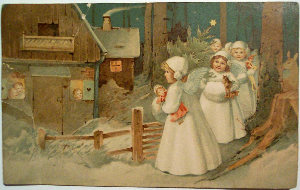 christmas card16 Best Vintage Christmas Card and Wishes