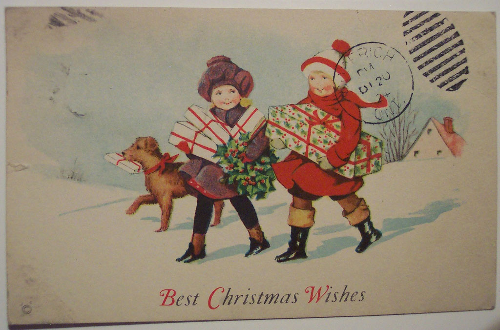 christmas card21 Best Vintage Christmas Card and Wishes