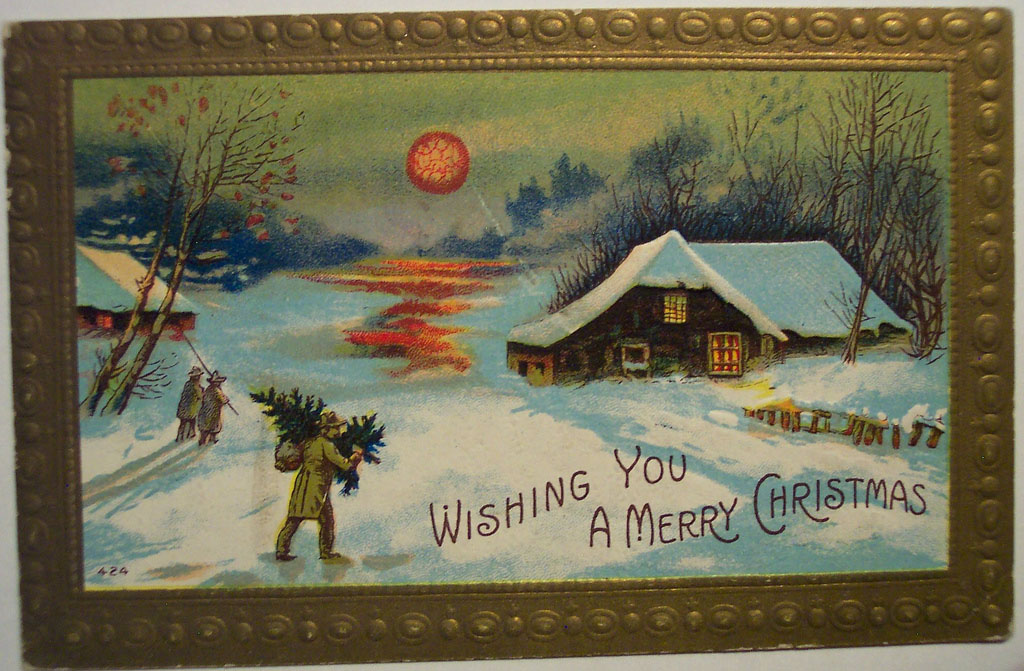 christmas card5 Best Vintage Christmas Card and Wishes