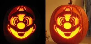 halloween pumpkins jack o lantern 26 300x146 Funny Pumpkin Faces Creations