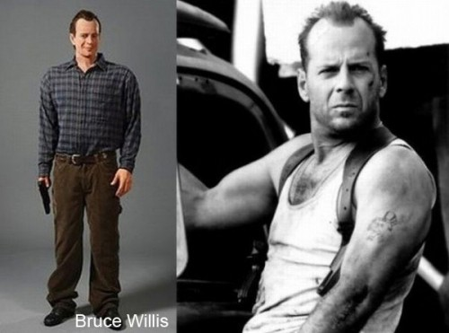 bruce willis wax 500x371 Celebrity Wax Figures Fail