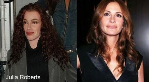 julia roberts wax 500x275 Celebrity Wax Figures Fail