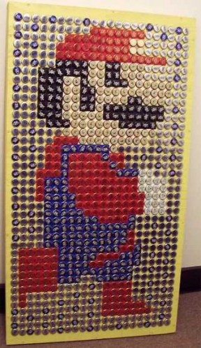 bottle caps8 288x499 Bottle Caps Art