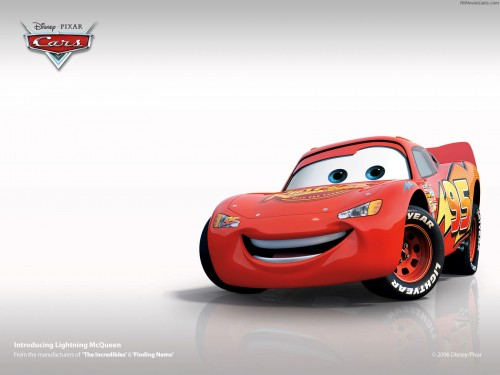pixar cars wallpaper 500x375 Pixar Cars Wallpaper