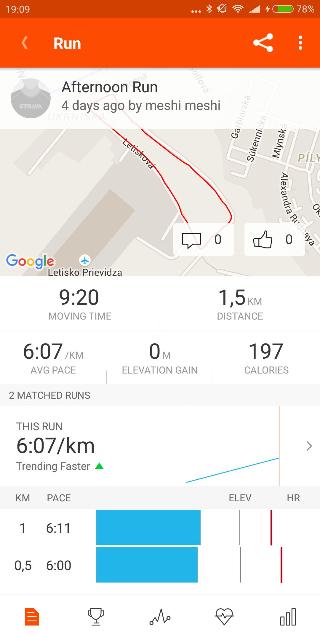 strava workout details
